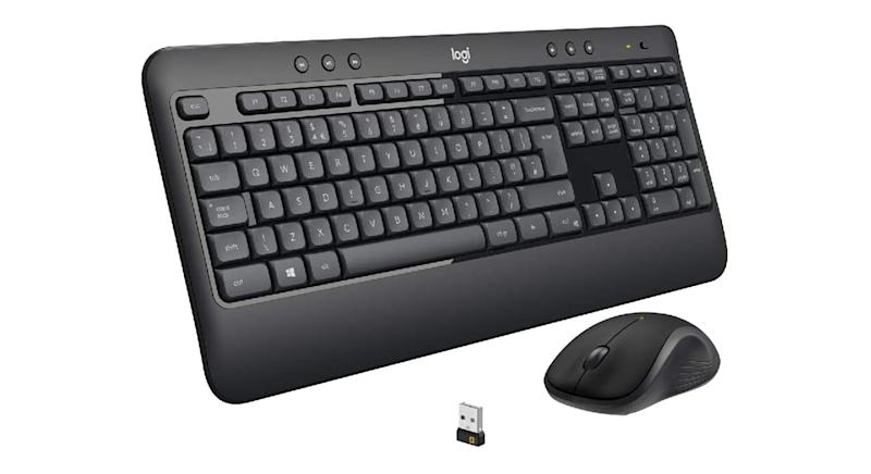 Logitech MK540 Wireless Keyboard and Mouse Combo for Windows