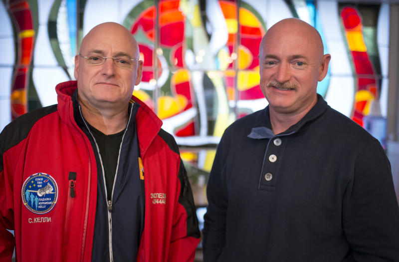 Nasa twins no longer identical after space flight alters DNA