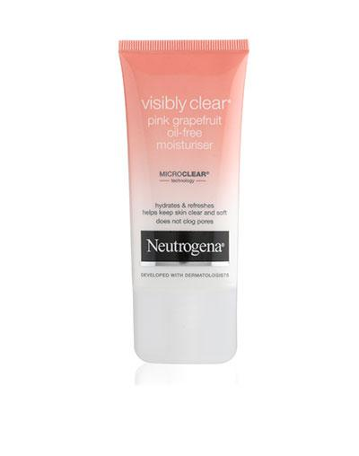 "<b>Best new facial skincare product</b> <br><br>Neutrogena visibly clear pink grapefruit oil-free moisturiser <a target=""_blank"" href=""http://www.boots.com/en/Neutrogena-Visibly-Clear-Pink-Grapefruit-Oil-Free-Moisturiser-50ml_1253356/"">Boots</a>, £4.99"
