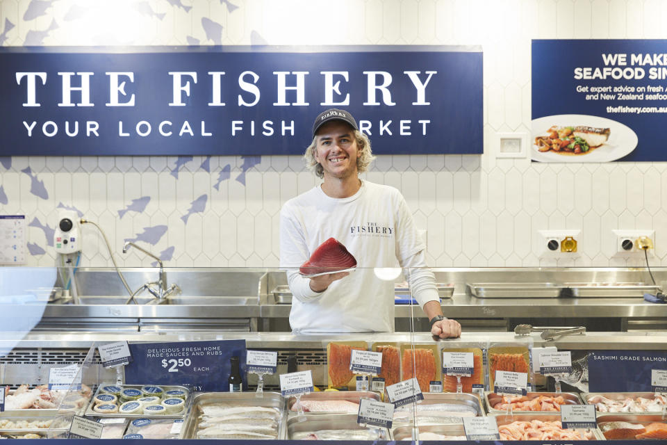 The Fishery pictured at Coles Moonee Ponds.