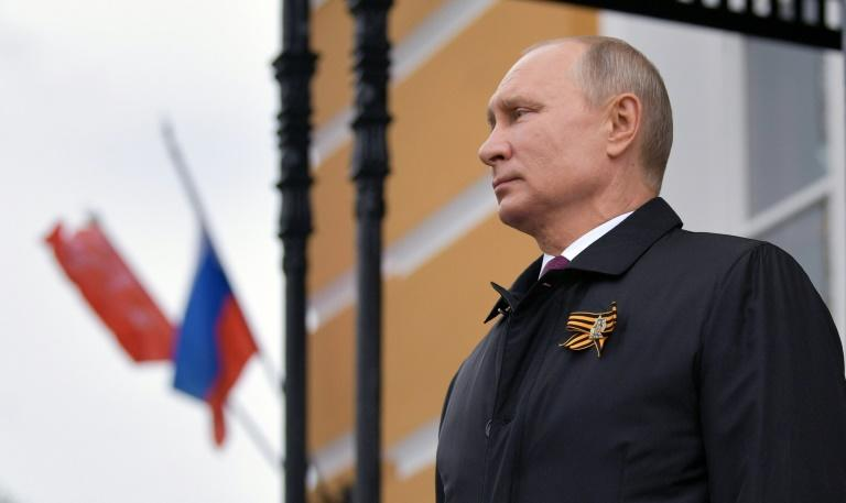 Vladimir Putin's Russia has accused the West of downplaying the former Soviet Union's role in the victory over Nazi Germany