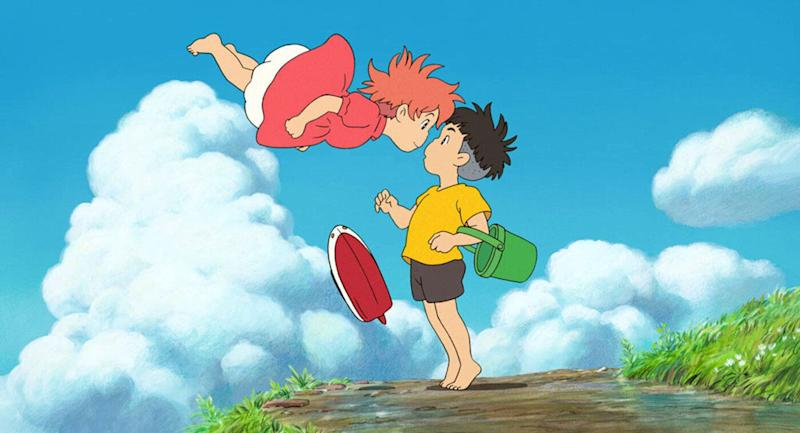Ponyo is Miyazaki's seventh outing as director and screenwriter. (Studio Ghibli)