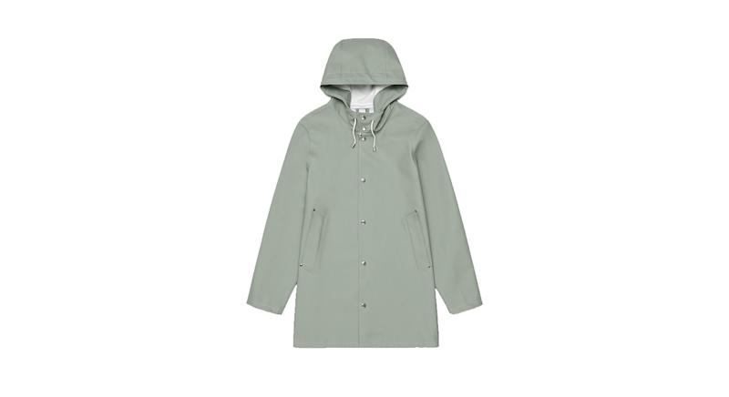 Stutterheim Stockholm Khaki Green Unisex Raincoat