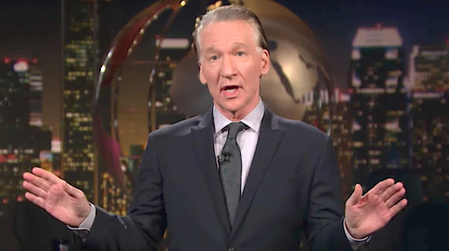 "Bill Maher had his say on the controversy engulfing his friend Sen. Al Franken (D-Minn.) on Friday's broadcast of ""Real Time."""