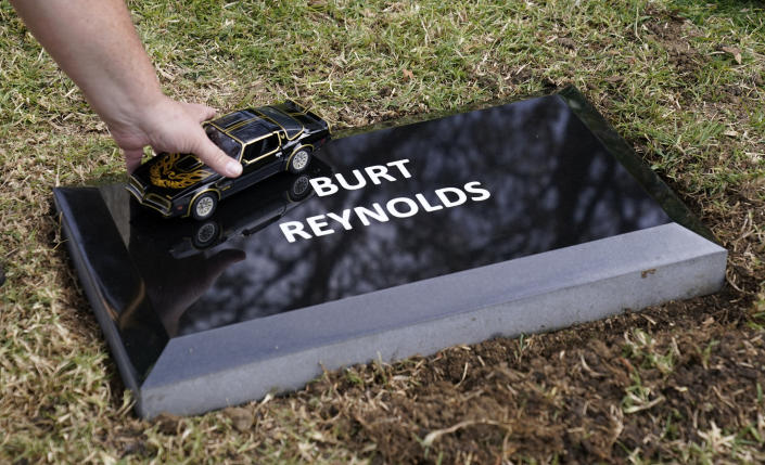 Image result for American Actor Burt Reynolds Laid to Rest in Hollywood More Than 2 Years After His Death