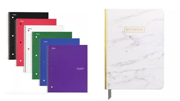 A notebook for every subject