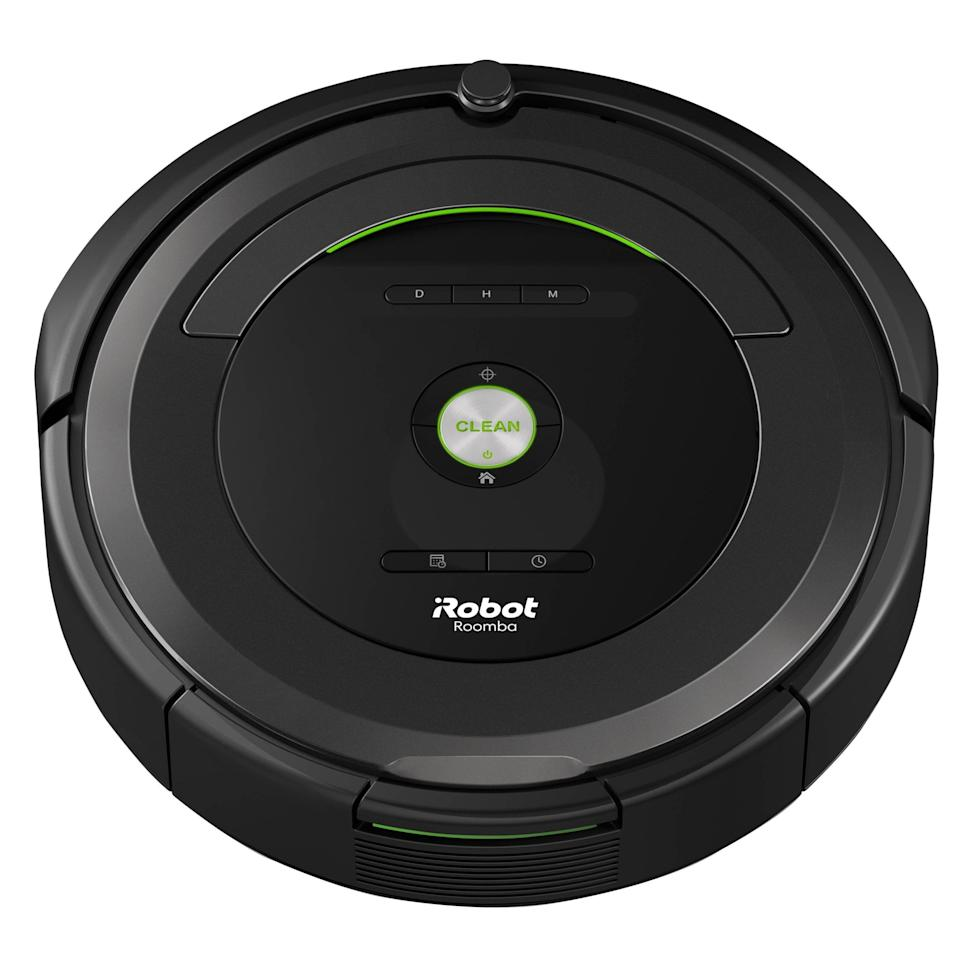 """<p>Cleaning up just got so much easier thanks to this <a href=""""https://www.popsugar.com/buy/Roomba-Robot-Vacuum-478924?p_name=Roomba%20Robot%20Vacuum&retailer=walmart.com&pid=478924&price=240&evar1=savvy%3Aus&evar9=46367690&evar98=https%3A%2F%2Fwww.popsugar.com%2Fphoto-gallery%2F46367690%2Fimage%2F46490317%2FRoomba-Robot-Vacuum&list1=shopping%2Csale%2Cwalmart%2Csummer%2Csale%20shopping&prop13=api&pdata=1"""" rel=""""nofollow"""" data-shoppable-link=""""1"""" target=""""_blank"""" class=""""ga-track"""" data-ga-category=""""Related"""" data-ga-label=""""https://www.walmart.com/ip/Roomba-by-iRobot-680-Robot-Vacuum-with-Manufacturer-s-Warranty/267255446"""" data-ga-action=""""In-Line Links"""">Roomba Robot Vacuum</a> ($240, originally $299).</p>"""