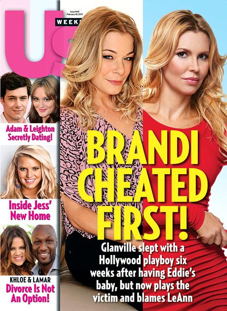 Brandi Glanville Cheated on Eddie Cibrian Before LeAnn Rimes Affair