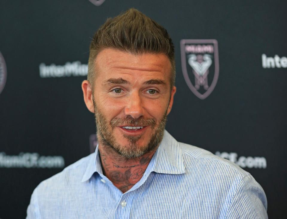 David Beckham and Inter Miami are coming to MLS in 2020. (Getty)