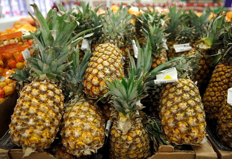 Demand for pineapples is sky high from China, with Malaysia capable of supplying only seven per cent of the total demand for the fruit. — Reuters pic