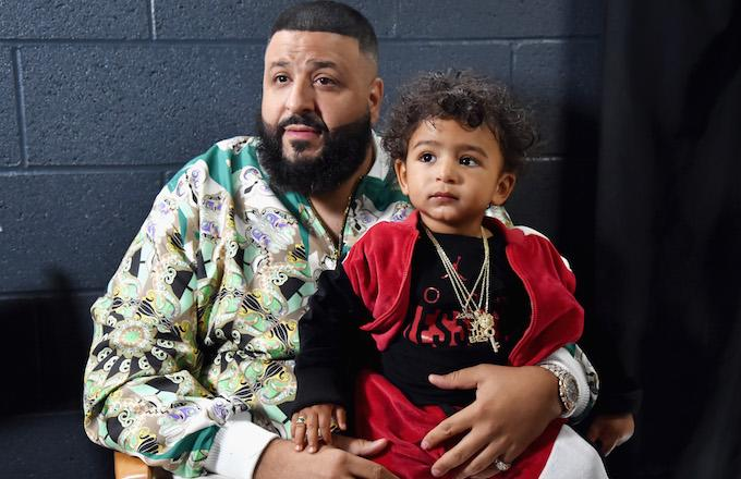 DJ Khaled Files Trademark Application to Brand Son Asahd's Name
