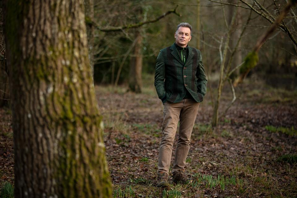 Packham, 59, is working with The National Lottery to urge the public to be greener