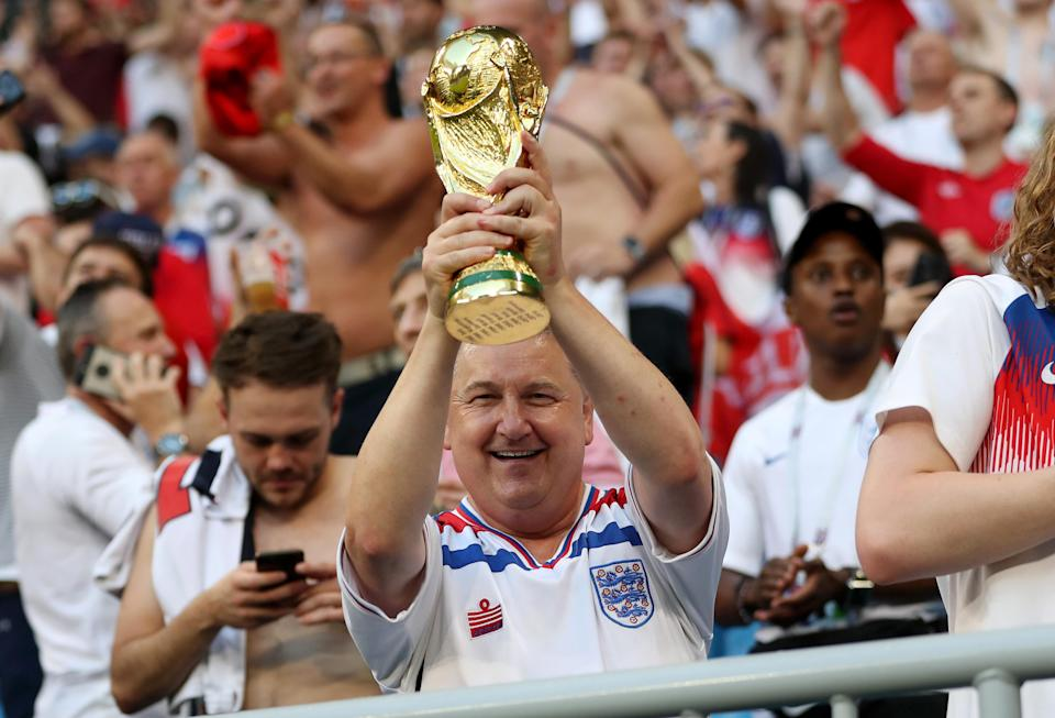 Football is coming home, in case you haven't heard. (Getty)