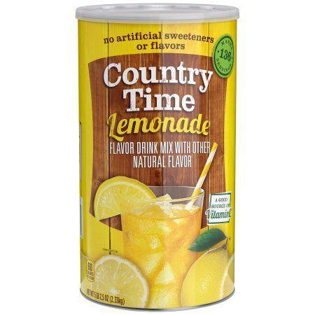 """<p>$10</p><p><a class=""""link rapid-noclick-resp"""" href=""""https://www.walmart.com/ip/Country-Time-Lemonade-Drink-Mix-82-5-Oz-2-33kg/10292688"""" rel=""""nofollow noopener"""" target=""""_blank"""" data-ylk=""""slk:BUY NOW"""">BUY NOW</a><br></p><p>From lemonade to Crystal Light, drink mixes are popular here.</p>"""