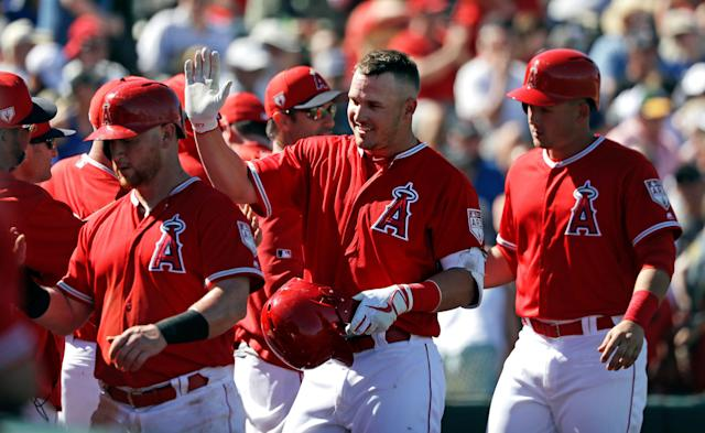 Los Angeles Angels star Mike Trout is the best player in the game, but has lacked the help needed for the team to have success. (AP Photo/Elaine Thompson)