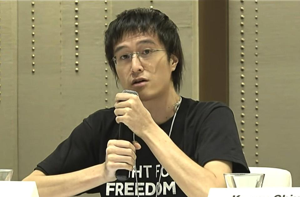 Andy Li has been charged with collusion under the national security law, among other offences. Photo: Handout