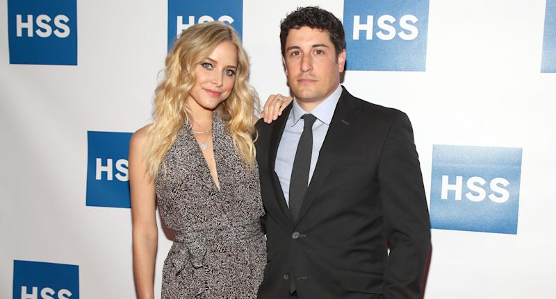 Jenny Mollen and Jason Biggs. Image via Getty Images.