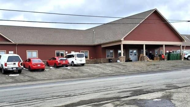 Pavillon Beau-Lieu, a special care home in Grand Falls, is dealing with a COVID-19 outbreak involving the variant first reported in South Africa. (Submitted by Madeleine LeClerc  - image credit)
