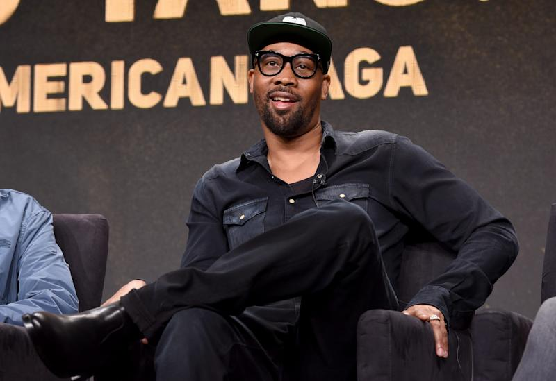 RZA speaks onstage during the Hulu 2019 Summer TCA Press Tour.