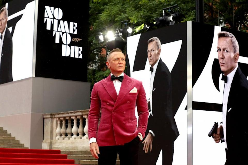 Daniel Craig (Tristan Fewings/Getty Images for EON Productions, Metro-Goldwyn-Mayer Studios, and Universal Pictures)