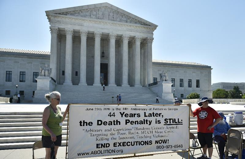 Supreme Court halts scheduled execution of Alabama death row inmate