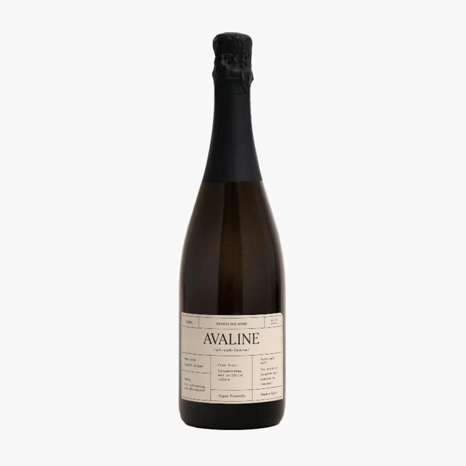 "Avaline dropped a new sparkling wine just in time for the holidays. Like their rosé, white, and red wines that came before, the brand's sparkling iteration is also vegan, made from organic grapes, free from concentrates, and without artificial colors. $25, WINE.COM. <a href=""https://www.wine.com/product/avaline-sparkling/686424?state=CA&s=GoogleBase_CSE_686424_type_Wine_Champagne_Non-Vintage_219&region_id=000010&utm_source=google&utm_medium=cpc&utm_term=&utm_campaign=Google_Shopping_Smart_CA_Relaunch&showpromo=false&gclid=CjwKCAiAt9z-BRBCEiwA_bWv-CbIe70d-k3YCkYiZXAPFzVZ6GYfKyGMJA8-RYM13_i1sfKysJLYVRoC01IQAvD_BwE&gclsrc=aw.ds"" rel=""nofollow noopener"" target=""_blank"" data-ylk=""slk:Get it now!"" class=""link rapid-noclick-resp"">Get it now!</a>"