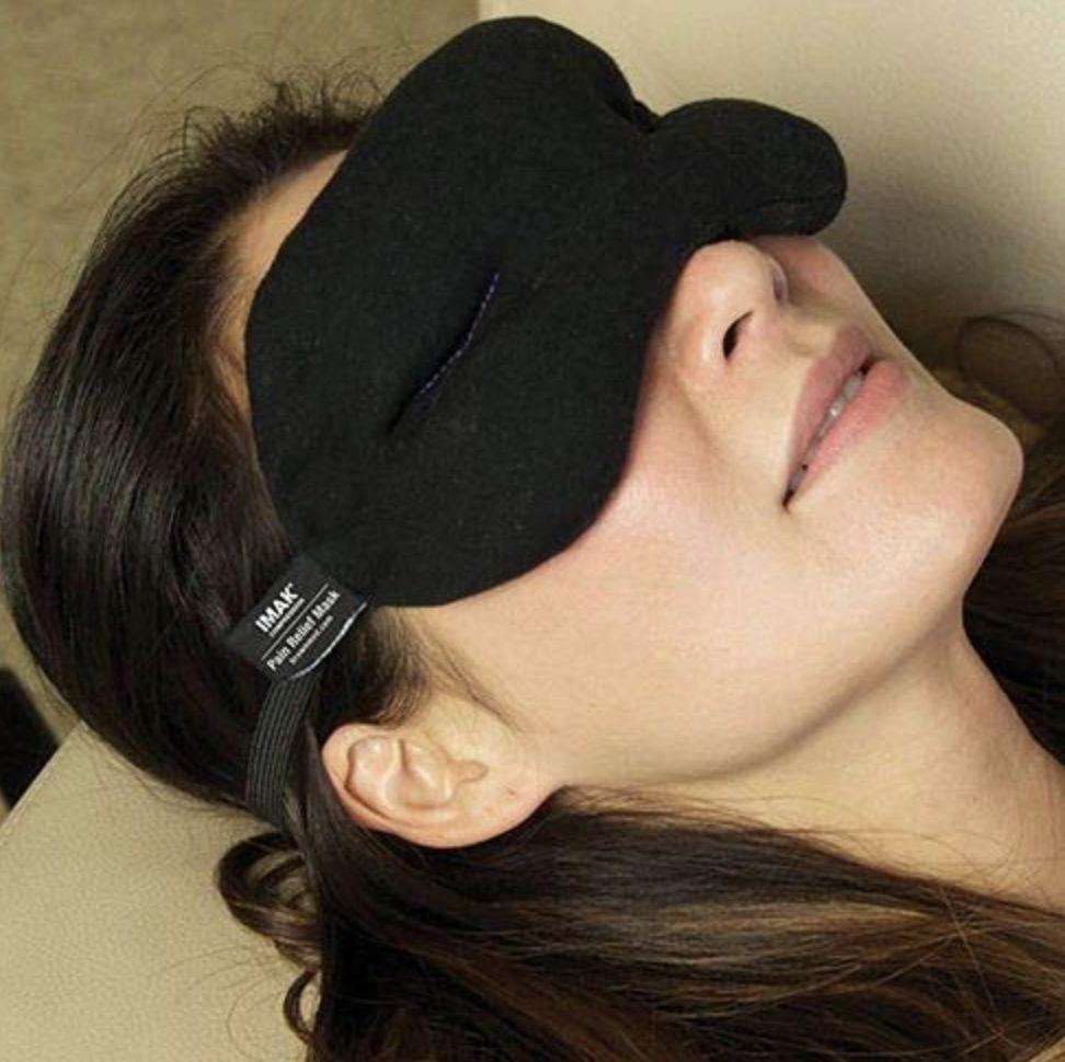 IMAK Compression Pain Relief Mask and Eye Pillow