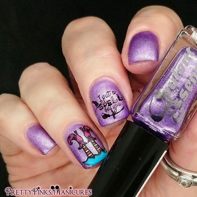 """<p>The secret to clean, legible words on nails is to use a nail stamp plate. It's easier than you think!</p><p><a class=""""link rapid-noclick-resp"""" href=""""https://www.amazon.com/Halloween-Stamping-KISSBUTY-Templates-Decoration/dp/B08D3LZ6KV/?tag=syn-yahoo-20&ascsubtag=%5Bartid%7C10050.g.33512580%5Bsrc%7Cyahoo-us"""" rel=""""nofollow noopener"""" target=""""_blank"""" data-ylk=""""slk:SHOP HALLOWEEN NAIL STAMPING PLATES"""">SHOP HALLOWEEN NAIL STAMPING PLATES</a></p><p><a href=""""https://www.instagram.com/p/CDKbTOCjITW/?utm_source=ig_embed&utm_campaign=loading"""" rel=""""nofollow noopener"""" target=""""_blank"""" data-ylk=""""slk:See the original post on Instagram"""" class=""""link rapid-noclick-resp"""">See the original post on Instagram</a></p>"""