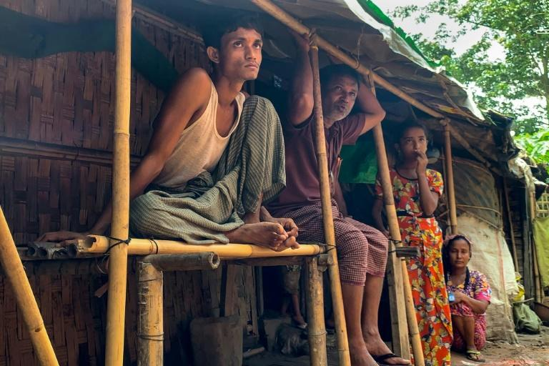 Junta leader Min Aung Hlaing has dismissed the word Rohingya as an 'imaginary term'