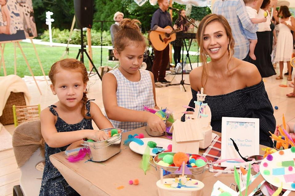 """<p>'As I've gotten older and after I became a mum, it became more of a priority to be healthy for the right reasons,' Jessica told <a href=""""https://people.com/style/jessica-alba-its-more-important-to-me-to-be-balanced-than-perfect/"""" rel=""""nofollow noopener"""" target=""""_blank"""" data-ylk=""""slk:People"""" class=""""link rapid-noclick-resp"""">People</a>. 'It's more important to have a balanced approach instead of trying to be perfect.'</p>"""