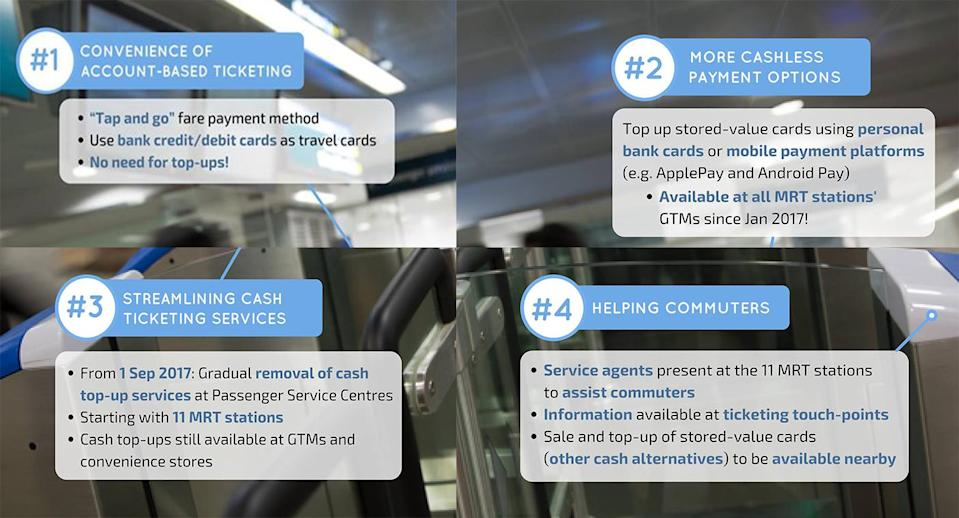 LTA announced its plan for a cashless transport system in Singapore by 2020. (Photo: LTA/ Facebook)