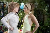 <p>The actress unofficially retired in the early 1990s, but made a return to film in 2005's <em>Monster-in-Law</em> opposite Jennifer Lopez, going on to appear in a string of films and TV shows, including an Emmy-nominated guest spot on <em>The Newsroom.</em></p>