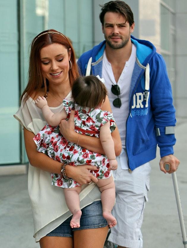 Hottest Celebrity Dads: The Satrudays star Una Healy's husband Ben Foden
