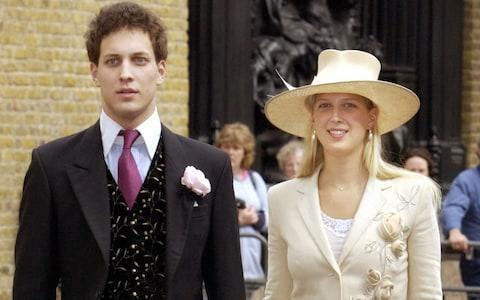 Son and daughter to Prince and Princess Michael of Kent, Lord Frederick and Lady Gabriella Windsor - Credit: Fiona Hanson/PA