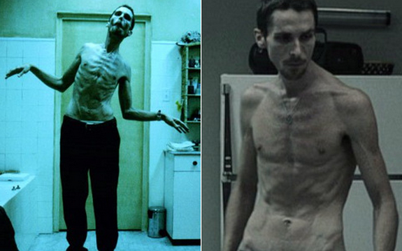 Christian Bale scary skinny The Machinist