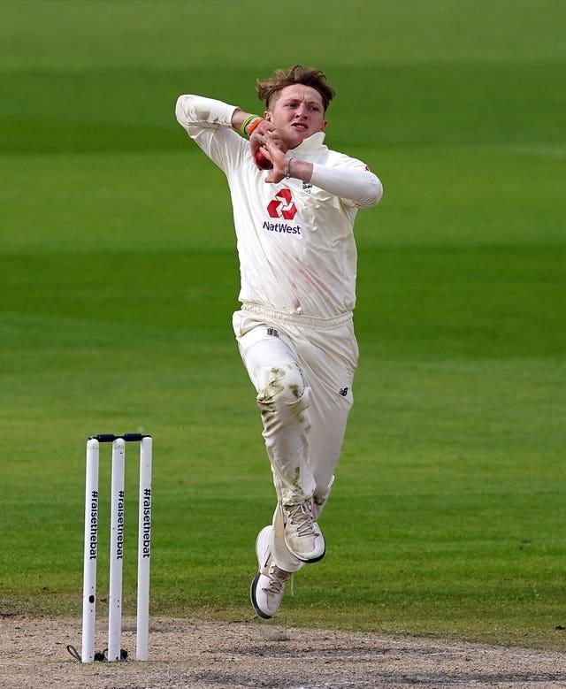 Dom Bess picked up four of 10 wickets that fell to spin on Monday.
