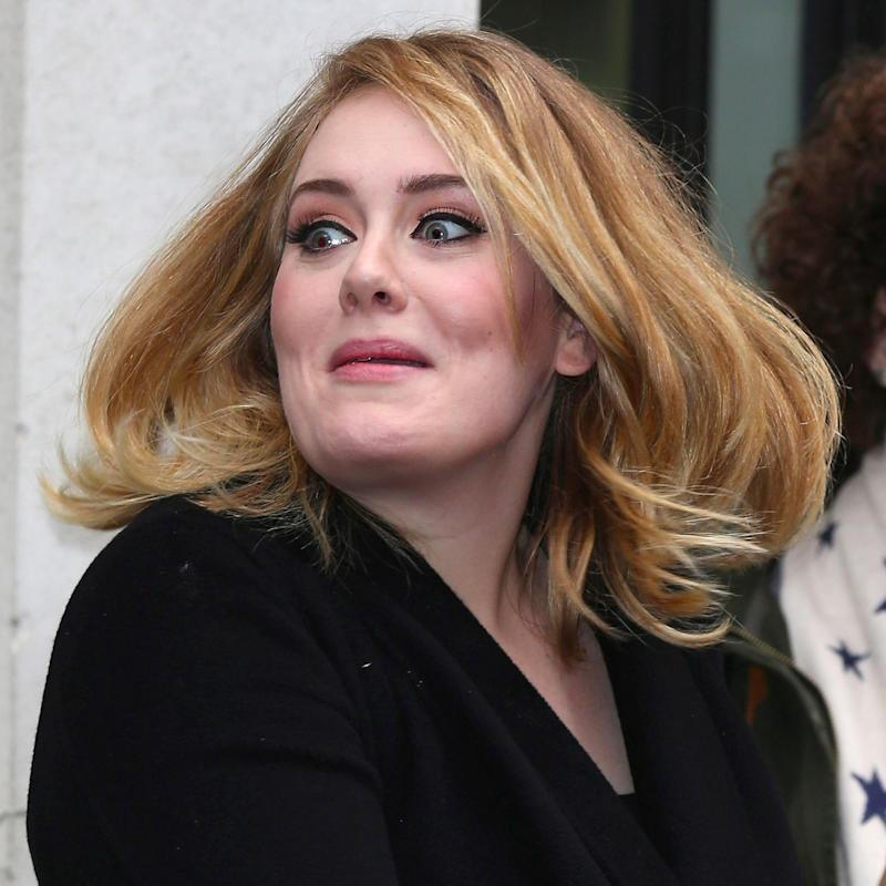 Adele Totally Freaks Out When a Mosquito Goes Rogue and Attacks Her During a Concert