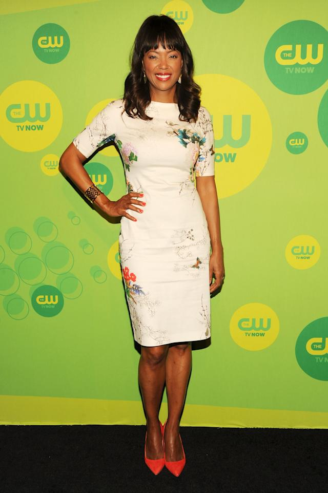 NEW YORK, NY - MAY 16:  Actress Aisha Tyler attends The CW Network's New York 2013 Upfront Presentation at The London Hotel on May 16, 2013 in New York City.  (Photo by Ben Gabbe/Getty Images)