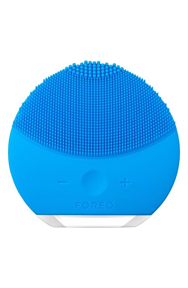 "<p><strong>Foreo</strong></p><p>nordstrom.com</p><p><strong>$93.13</strong></p><p><a href=""https://go.redirectingat.com?id=74968X1596630&url=https%3A%2F%2Fshop.nordstrom.com%2Fs%2Fforeo-luna-mini-2-compact-facial-cleansing-device%2F4406548&sref=http%3A%2F%2Fwww.elle.com%2Ffashion%2Fshopping%2Fg28449192%2Fnordstrom-anniversary-sale-summer-2019%2F"" target=""_blank"">Shop Now</a></p>Enhanced with T-Sonic™ pulsations, this silicone facial cleansing brush with eight adjustable intensities removes 99.5% of dirt and impurities while being 35 times more hygienic than your standard bristled facial-cleansing brush. It features soft touch-points that are extremely gentle on the skin and are designed in three zones so you can use the one that works for your skin types. The thinner touch-points gently cleanse sensitive and normal skin; the thicker touch-points are ideal for precision cleansing; and the broader touch-points on the reverse side address oilier skin. Completely waterproof and ideal for use in the bath or the shower, the LUNA mini will keep its charge for up to 300 uses."" /"
