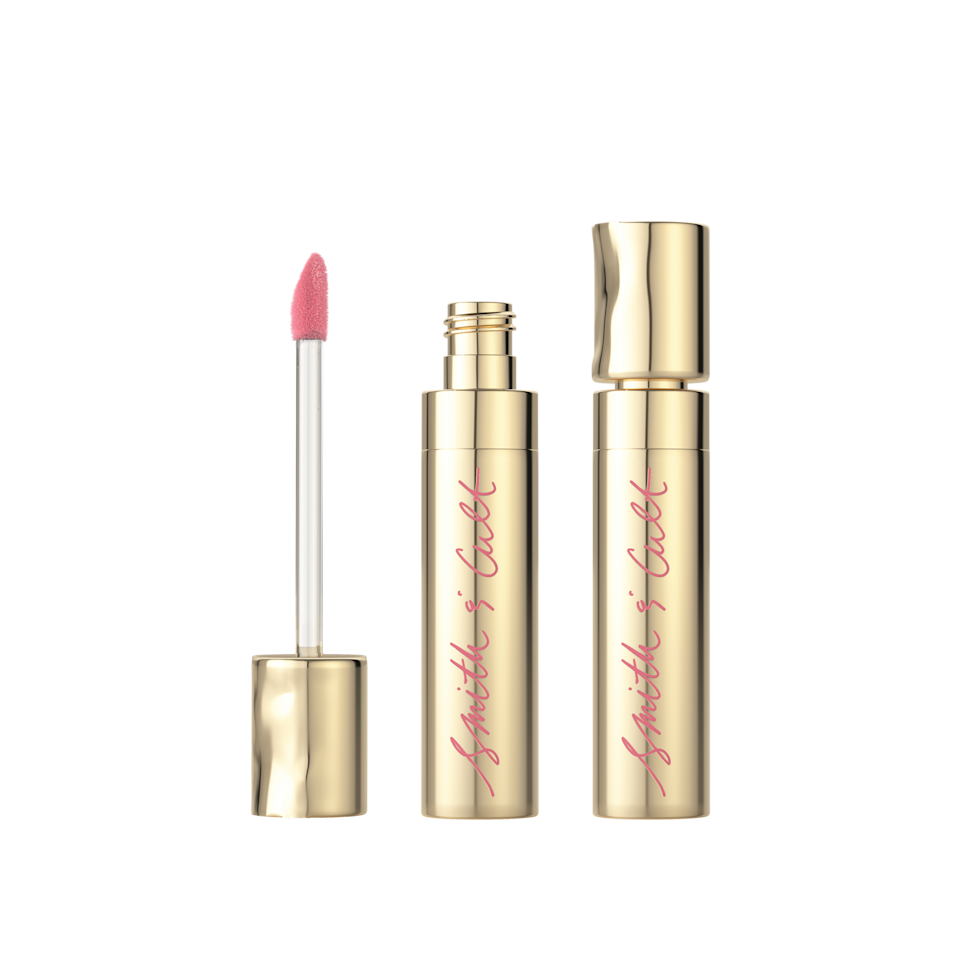"""<p>We're a sucker for a great matte lip—and Smith & Cult's new stain doesn't disappoint. This long-lasting, ultra-pigmented tint covers lips with a saturated rosy-champagne hue that stays put from """"I do"""" to the after party. <em>($24, <a rel=""""nofollow"""" href=""""http://www.smithandcult.com/matte-stain/love-sucker.html?mbid=synd_yahoolife"""">Smith & Cult</a>)</em></p>"""