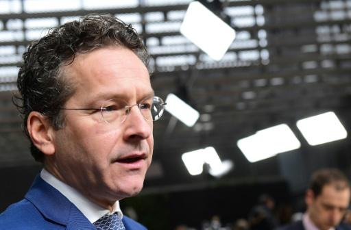 Eurogroup chief 'positive' on Greek bailout breakthrough