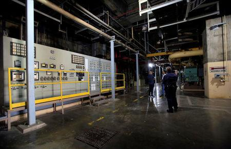 An interior view of the Bataan Nuclear Power Plant (BNPP) is seen during a tour at the BNPP compound in Morong town, Bataan province, north of Manila, Philippines May 11, 2018. Picture taken May 11, 2018. REUTERS/Romeo Ranoco
