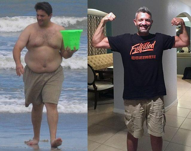 John Boghos's weight loss was spurred by changing the way he thought of himself.