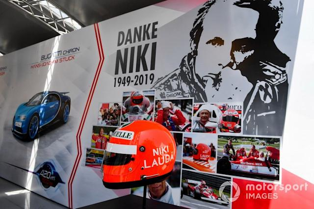 "El casco de Niki Lauda <span class=""copyright"">Mark Sutton / Motorsport Images</span>"