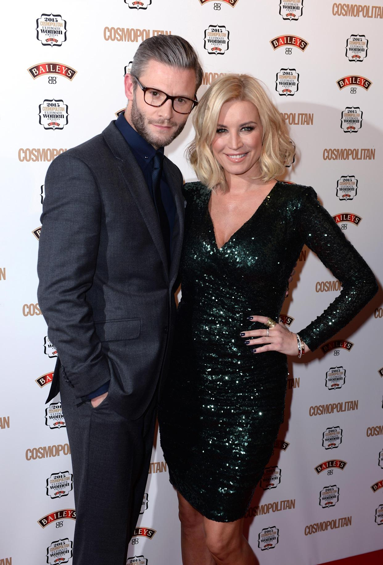 Eddie Boxshall and Denise Van Outen tried cooking therapy to 'spice' up their relationship (Image: Doug Peters EMPICS Entertainment)