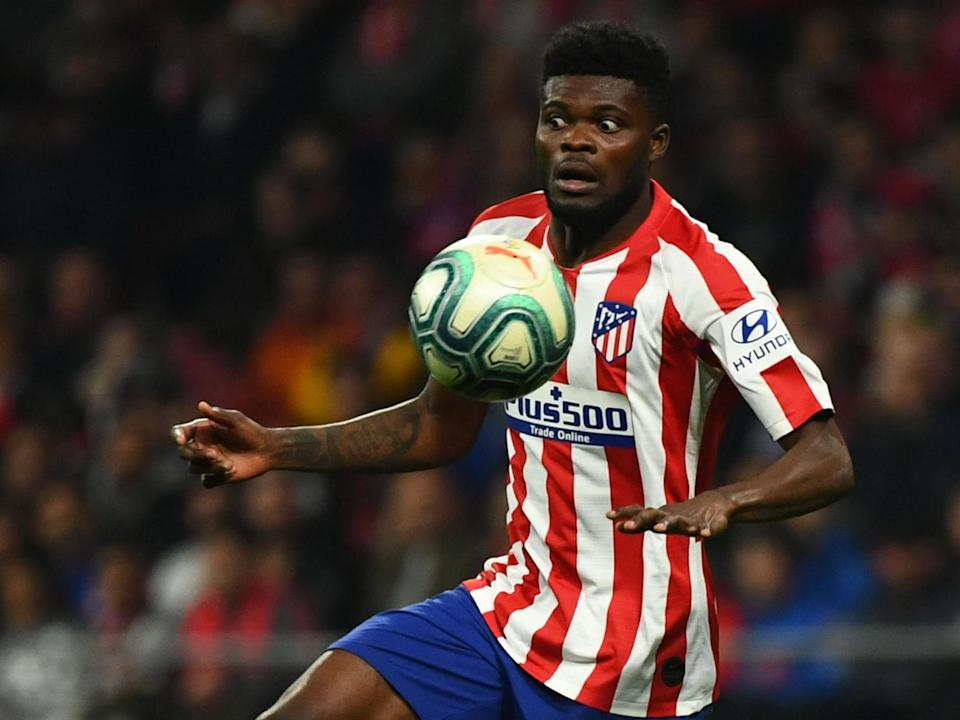Thomas Partey is being linked with a move to Arsenal: AFP via Getty