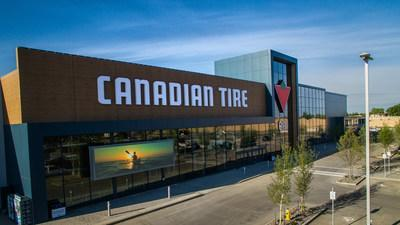 Canadian Tire Retail store in Edmonton, Alberta, Canada (CNW Group/CANADIAN TIRE CORPORATION, LIMITED - INVESTOR RELATIONS)