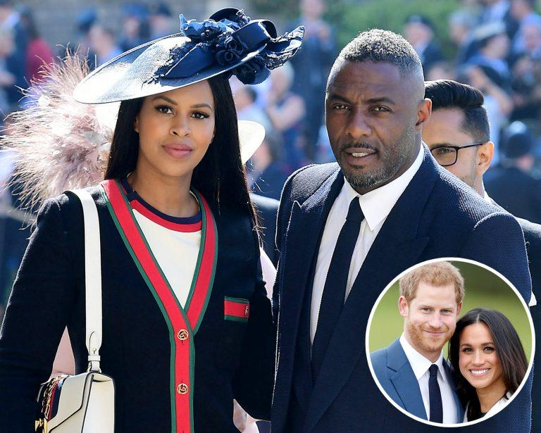The Sussex's gift Idris Elba & wife with £7k art