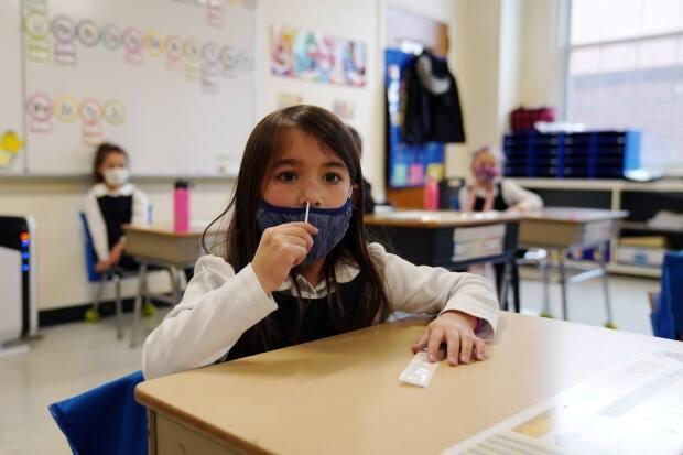 Officials are exploring different methods of collecting specimens to make COVID-19 testing more palatable for kids. 'Acceptability of the testing is so important ... And it's far more acceptable to have less-invasive method of collection,' says Dr. Nisha Thampi of CHEO, a pediatric health and research centre in Ottawa.