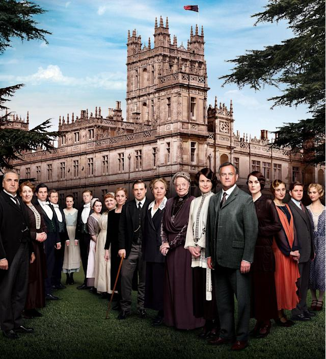 """""""Downton Abbey"""" finds aristocrats and servants coping with last season's shocking finale. The acclaimed ensemble is back, including Dame Maggie Smith, Elizabeth McGovern, Hugh Bonneville, Michelle Dockery, Jim Carter, Penelope Wilton, and Laura Carmichael - together with returning guest star Academy Award®-winner Shirley MacLaine, and new guest star Paul Giamatti."""